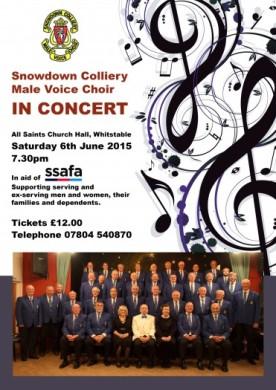 Snowdown Choir poster 2015