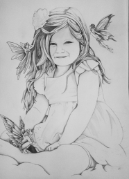 Sophia drawing